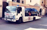 سطحه شرق الرياض لنقل السيارات داخل وخارج الرياض